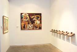 """The World And I: Heri Dono Art Odyssey"" Installation View #8"