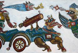 Meriam si Jaguar dan Garuda