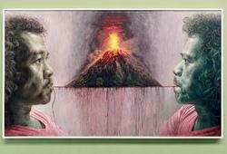 Dua Manusia dan Satu Gunung Api
