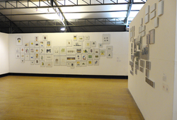 90an installation view