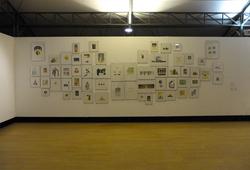 Penjelajahan Ruang Tanpa Batas (installation view)