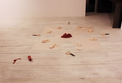 """""""When in Bali Do Like the Balinese Do"""" Installation View#1"""