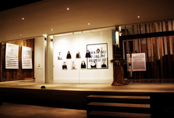 """""""When in Bali Do Like the Balinese Do"""" Installation View #4"""