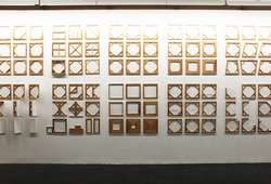 """Canvas as A Language"" Installation View"