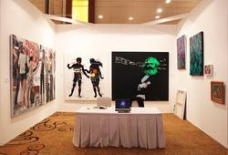 Emmitan CA Gallery at Bazaar Art jakarta 2014