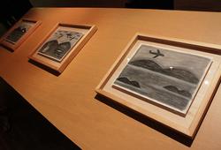 """Seri Kapal Terbang"" Installation View"