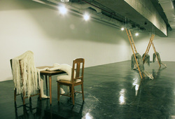 """Crafting The Self"" Installation View #1"