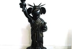 Libertine Life-size Figure Original Black