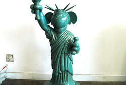 Libertine Life-size Figure Original Green