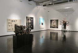 """""""SHOUT!"""" Installation View #1"""