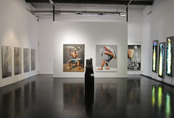"""""""SHOUT!"""" Installation View #2"""