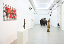 """Versi"" Installation View"
