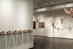 """The World And I"" Installation view #1"
