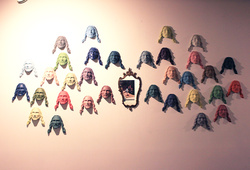 """On The Wall"" Installation view"