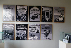 Si Tintin Positif - Installation View 2