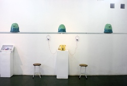 """Poetry of Space"" Exhibition View 2"