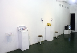 """Poetry of Space"" Exhibition View"