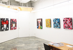 """""""Future, Present And Past"""" Installation View #4"""