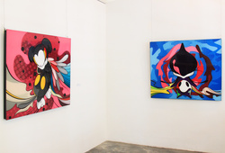 """""""Future, Present And Past"""" Installation View #5"""