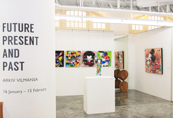 """""""Future, Present And Past"""" Installation View #6"""