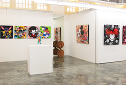 """""""Future, Present And Past"""" Installation View #2"""
