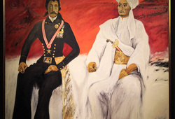 Pangeran Diponegoro Dan Raden Saleh (Bhineka Tunggal Ika - Tan Hana Dharma Mangrwa)