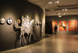 """Aku Diponegoro"" Installation View #5"
