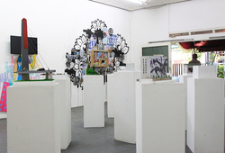 """""""Shifting Spaces"""" Installation View #1"""