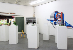 """Shifting Spaces"" Installation View #2"