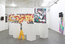 """""""Shifting Spaces"""" Installation View #3"""