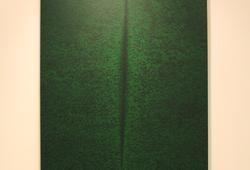 Hijau (Lucio Fontana series No 8)