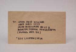 Roy Lichtenstein Pistol (1964)