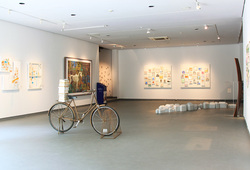 """Medium of Living"" Installation View #6"