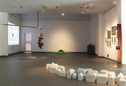 """Medium of Living"" Installation View #2"