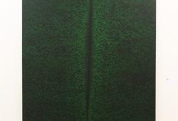 Hijau (Lucio Fontana Series No.8)