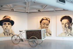 """HKAC 3rd Annual (CCC) Boundless Treasures"" Installation View #2"