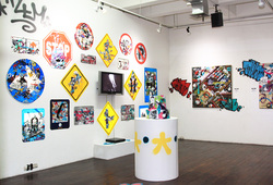 """Destroy to Create"" Installation View #1"