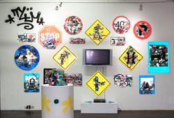"""Destroy to Create"" Installation View #7"