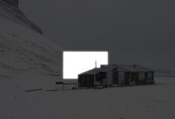 Cabin at Skansbukta, Svalbard