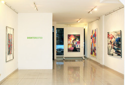 """""""Disinterested"""" Installation View #1"""