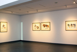 """Cakrawala"" Installation View #3"