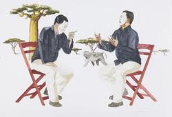 Sang Seniman Dituduh Terpikat Pada Keduniawian Oleh dirinya Sendiri