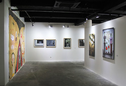 """Pursuing Future"" Installation View #2"