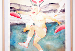 Tarian Semangka (Homage to Hiroshige)
