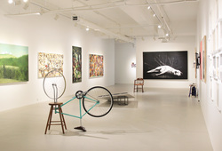 """""""Family And Friends"""" Installation View #2"""