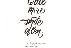 Write More