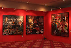 Srisasanty Syndicate at Bazaar Art Jakarta 2015 #3