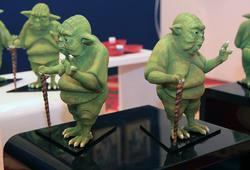 Fat Yoda detail