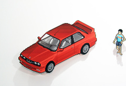 E 30 M3: 1988 IDR 50k My First Remote Control
