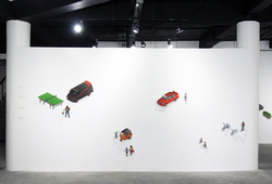 """Angkutan"" Installation View #2"